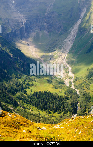 Austria, Tyrol, Hohe Tauern National Park Grossglockner High Alpine Road - Stock Photo