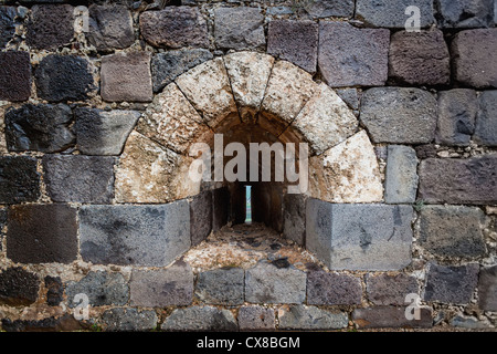 Belvoir Fortress Kokhav Ha Yarden National Park; Israel - Stock Photo