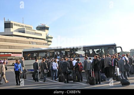 Berlin Tegel airport Otto Lilienthal Berlin Germany - Stock Photo