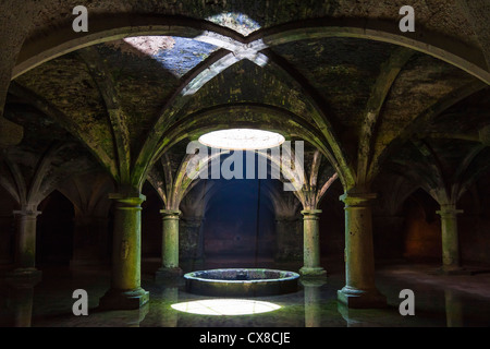 Portuguese cistern. El Jadida, Morocco - Stock Photo