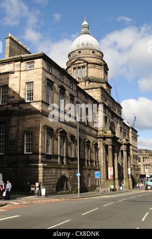 The University of Edinburgh, Old College. - Stock Photo
