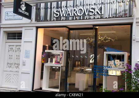 swarovski store stock photo royalty free image 76047186. Black Bedroom Furniture Sets. Home Design Ideas
