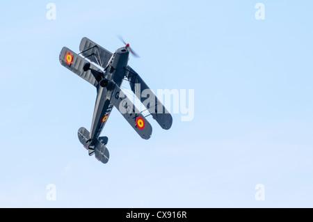 1941 de Havilland Tiger Moth aircraft, G-CGTX - Stock Photo
