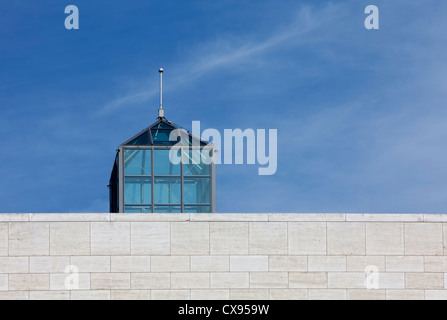 Musée d'Art Moderne Grand-Duc Jean, Mudam, Plateau de Kirchberg, Luxembourg, Europe, - Stock Photo