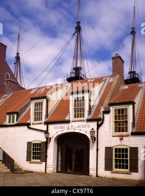 England County Durham Hartlepool historic Quay - Stock Photo