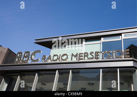BBC Radio Merseyside  in Hanover St, Liverpool - Stock Photo