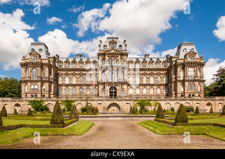 The Bowes Museum in Barnard Castle , County Durham , England , Britain , Uk - Stock Photo
