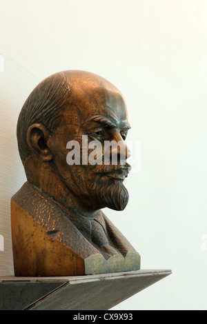 Bust of Vladimir Ilyich Lenin (1870 - 1924). - Stock Photo