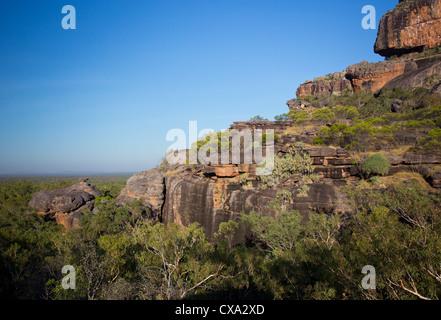Nourlangie Rock, Kakadu National Park, Northern Territory - Stock Photo