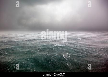 Tropical Storm Beryl in the Bahamas - Stock Photo