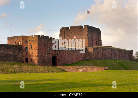 Carlisle Castle, Cumbria - Stock Photo