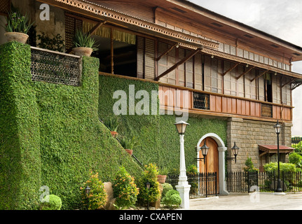 The Pastor Heritage House dating from 1883, a classic Filipino style Bahay na bato in Batangas, Philippines, Southeast - Stock Photo