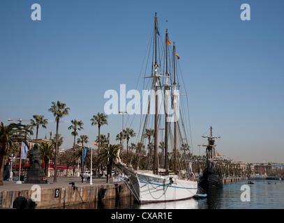 Port Vell, Barcelona, Catalonia, Spain, Europe - Stock Photo