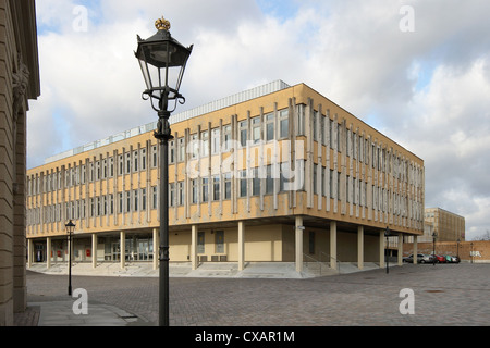 Potsdam, office building in the Old Market - Stock Photo