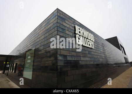 Jerwood Art Gallery, Hastings, East Sussex, England, United Kingdom, Europe - Stock Photo