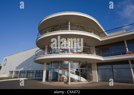 De la Warr Pavilion, Bexhill-on-Sea, East Sussex, England, United Kingdom, Europe - Stock Photo