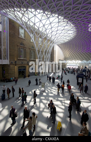 New concourse, Kings Cross Station, London, England, United Kingdom, Europe - Stock Photo