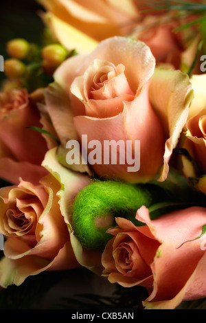Tangelic Rose Flower Arrangement - Stock Photo