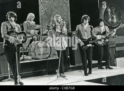 THE BEAT MERCHANTS UK pop group on 'Gadzooks' programme in 1965. Photo Tony Gale - Stock Photo