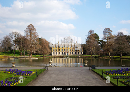 Museum No. 1, Royal Botanic Gardens, Kew, UNESCO World Heritage Site, London, England, United Kingdom, Europe - Stock Photo