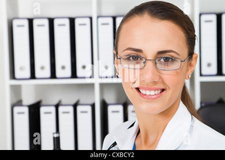 lab technician in laboratory - Stock Photo