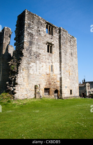 Barden Tower on the Bolton Abbey Estate, Wharfedale, Yorkshire Dales, Yorkshire, England, United Kingdom, Europe - Stock Photo