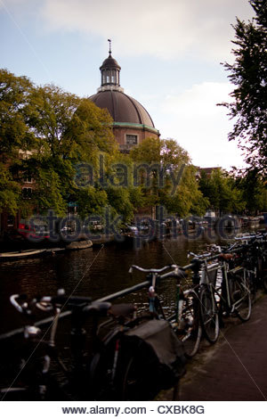Renaissance conference center on Herengracht, Amsterdam. - Stock Photo
