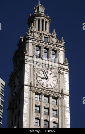 TRIBUNE TOWER,CHICAGO,ILLINOIS,USA - Stock Photo