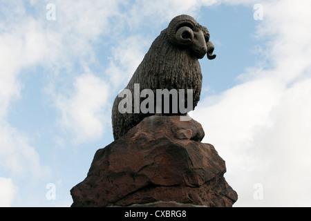 The Moffat Ram, Dumfries & Galloway -2 - Stock Photo