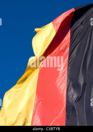 Munich, the flag of the Federal Republic of Germany - Stock Photo