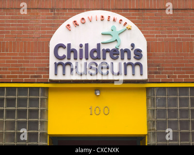 Providence Children's museum in Rhode Island - Stock Photo