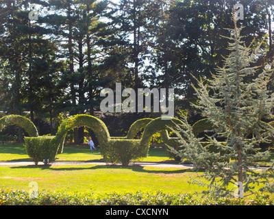 United States Botanic Garden In Washington DC · Green Animals Topiary  Gardens In Portsmouth RI   Stock Photo
