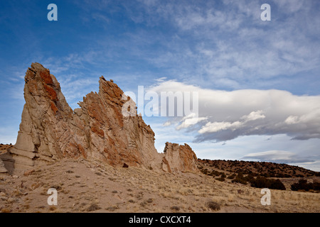 Rock fin, Carson National Forest, New Mexico, United States of America, North America - Stock Photo
