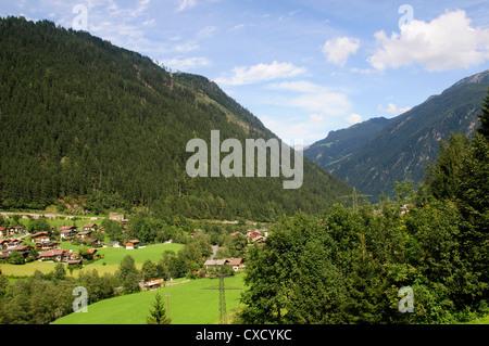 Ginzling, Tyrol, Austria - Stock Photo
