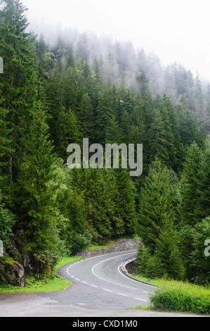 Krimml Waterfalls, the High Tauern National Park, Salzburgerland, Austria Contents - Stock Photo