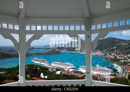Charlotte Amalie, St. Thomas, U.S. Virgin Islands, West Indies, Caribbean, Central America - Stock Photo