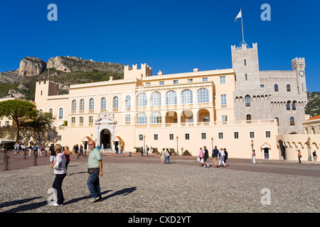 Princes Place in Old Monaco, Monte Carlo City, Monaco, Europe - Stock Photo