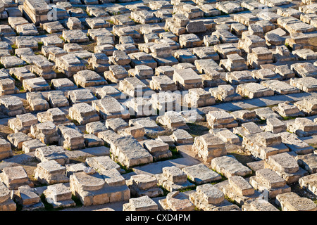 Jewish cemetery, Mount of Olives, Jerusalem, Israel, Middle East - Stock Photo
