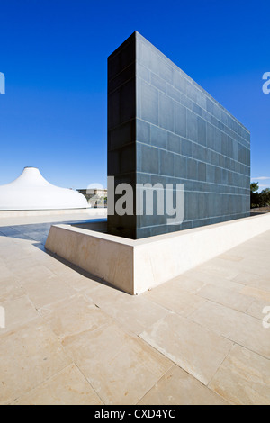 The Shrine of the Book containing the Dead Sea Scrolls, Israel Museum, Jerusalem, Israel, Middle East - Stock Photo