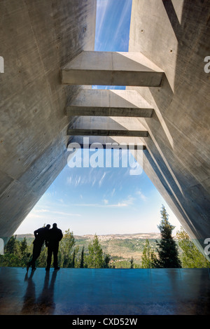 Yad Vashem, Holocaust Museum, Memorial to the victims in Camps, Jerusalem, Israel, Middle East - Stock Photo