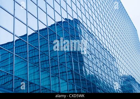 glass curtain wall - Stock Photo