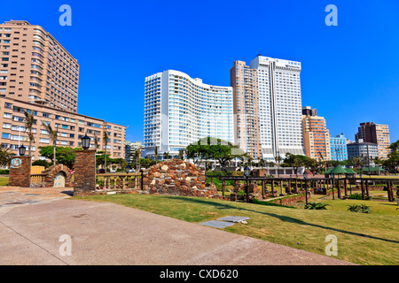 Durban a modern city on the East coast of South Africa. - Stock Photo