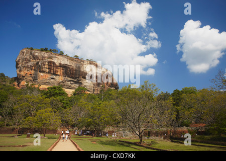 Sigiriya, UNESCO World Heritage Site, North Central Province, Sri Lanka, Asia - Stock Photo