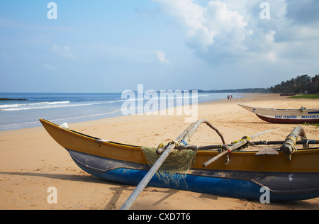 Bentota beach, Western Province, Sri Lanka, Asia - Stock Photo