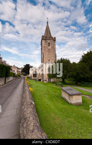 Holy Trinity Church, Bradford on Avon, Wiltshire - Stock Photo