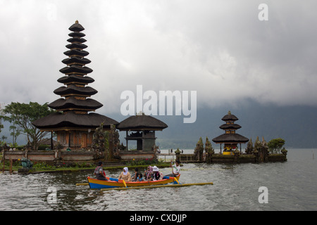 Pura Ulun Danu Bratan (Hindu-Buddhist Temple) - Candi Kuning - Bali - Indonesia - Stock Photo