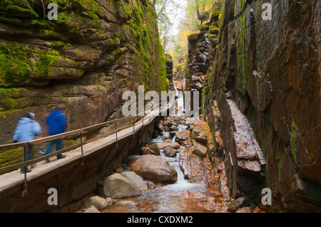 Franconia Notch State Park, New Hampshire, New England, United States of America, North America - Stock Photo