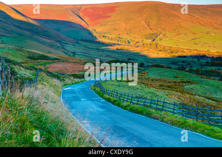Vale of Edale, Peak District National Park, Derbyshire, England Stock Photo