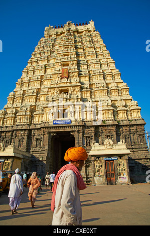 Sri Ekambaranathar, Kanchipuram, Tamil Nadu, India, Asia - Stock Photo