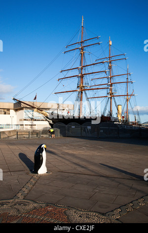 RRS Discovery, Discovery Point, Dundee, Scotland - Stock Photo